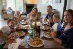 Posiłek z rodziną
