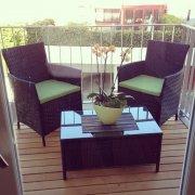 gustowne meble balkonowe