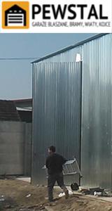 PEWSTAL - garaże blaszane, wiaty, bramy, kojce